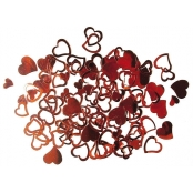 Sequins Coeur Rouge 7 & 12 mm 12 g