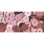 Sequins Rose ancien Ø6 mm Lisses 6 g Lavable